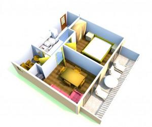 Apartman MARINA 2 (2+1)