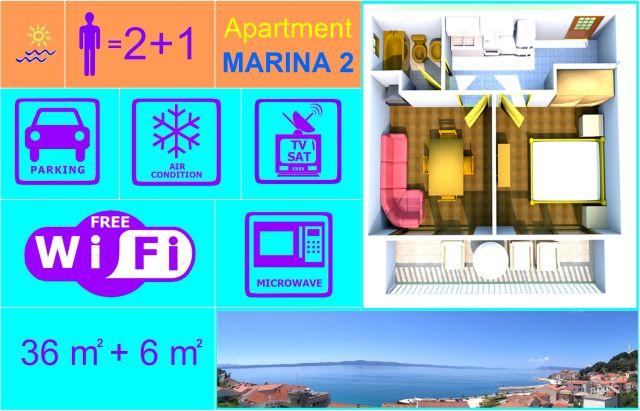 Apartment MARINA 2