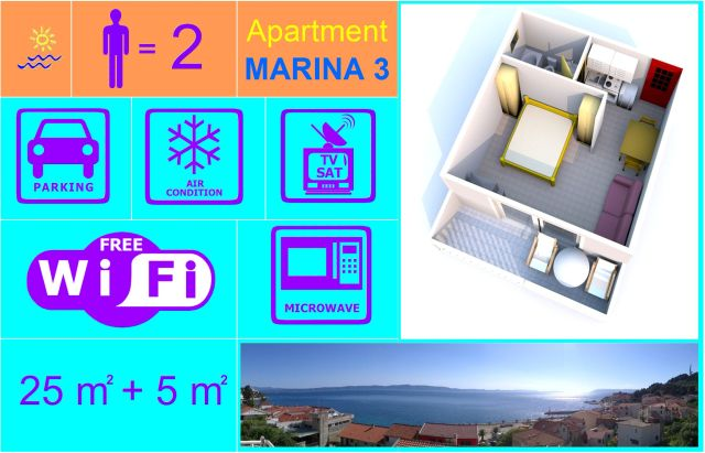 Apartment MARINA 3