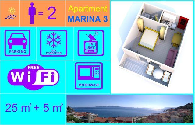Apartment MARINA 3